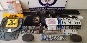 3 yılda 11 otomobil çalan hırsızlar, yakalandı