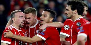 Bayern Münih, Devler Ligi'nde avantajı aldı