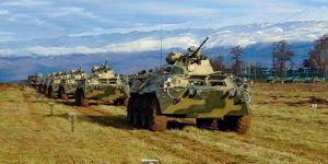 Abhazya ve Rusya tatbikata başladı