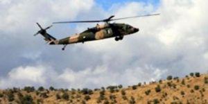 Irak'a 8 helikopter indirildi