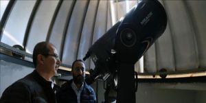 'Uzaya açılan pencere'den 200 bin kişi yıldızlara baktı