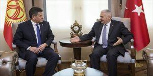 Başbakan'dan Kırgızistan'a FETÖ uyarısı