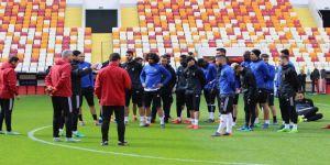 Yeni Malatyaspor yeni stadyumda çalıştı