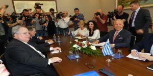 Yunanistan Dışişleri Bakanı Kotzias'ın Kosova temasları