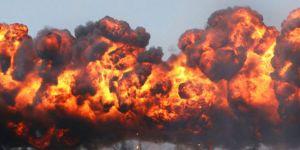 İran Askeri Üssü'nde şiddetli patlama