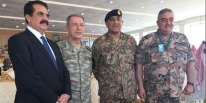 Genelkurmay Başkanı Akar'dan Suudi Arabistan ziyareti