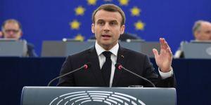 Macron'dan Almanya açıklaması