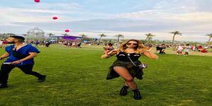 Hadise'den Coachella pozları