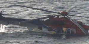 Helikopter düştü: 2 ölü, 2 kayıp