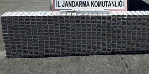 8 bin 500 paket kaçak sigara ele geçirildi