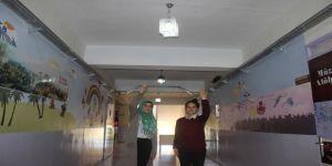 Öğrenciler kendi okullarının elektriğini üretiyor