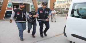 Sunta ve şeker çalan sahte nakliyeci tutuklandı
