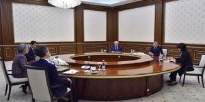Mirziyoyev, Güney Kore Dışişleri Bakanını kabul etti