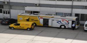 PTT Mobil Şubesi hizmet vermeye başladı