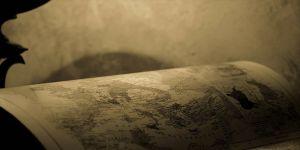 'Tarihi' Filistin haritası ele geçirildi
