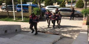 Kablo hırsızı 2 kişi tutuklandı