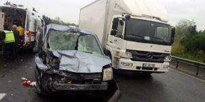 TEM otoyolunda kaza: 1 ölü