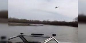 Uçak göle çakıldı: 2 ölü!