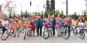 188 öğrenci daha bisikletlerine kavuştu