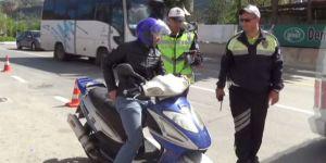 Polis sürücülere göz açtırmadı