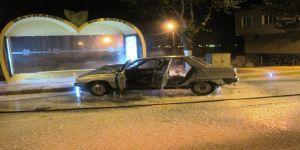 İki araç çarpıştı: 1 yaralı