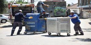 Çöp konteynırları yenileniyor