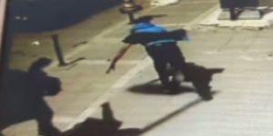 Polisten kaçarken tekvandocuya yakalandılar