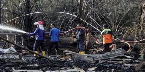 Petrol kuyusunda yangın: 21 ölü