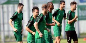 Bursaspor'da Konyaspor maçı hazırlıkları sürüyor