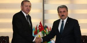 Destici, Erdoğan'ı tebrik etti