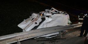 TEM'de feci kaza: 1 ölü 2 yaralı
