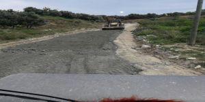 9 mahallede yol çalışmaları devam ediyor