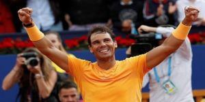 Barcelona'da şampiyon Nadal