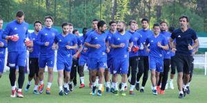 Karabükspor'da Konya hazırlıkları başladı