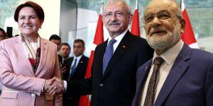 Son Dakika! CHP, İYİ Parti ve Saadet Partisi İttifak İçin Anlaştı!