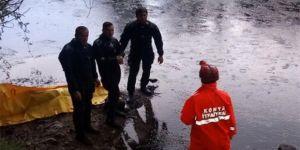 Serinlemek için girdiği barajda boğuldu