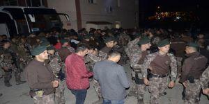 Afrin'de görev yapan 44 kişilik PÖH timi geri döndü