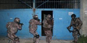 Silahlı suç örgütüne operasyon