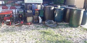 Petrol hırsızlarına operasyon