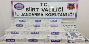2 bin 280 paket kaçak sigara ele geçirildi