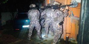 15 ayrı adrese uyuşturucu operasyonu yapıldı