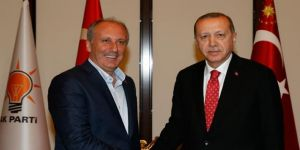 Erdoğan,İnce Görüşmesi Sona Erdi