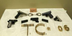 Silah kaçakçılarına operasyon: 12 gözaltı