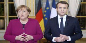 Merkel ve Macron'dan çağrı!