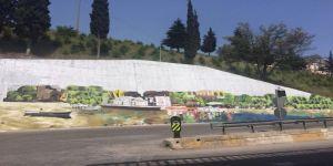 Hereke'nin güzelliği duvarlara resmedildi