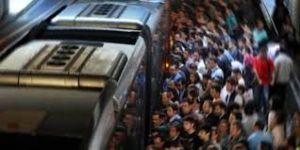 Metrobüste taciz!