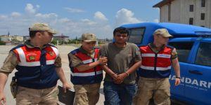PKK'lı terörist Suriye sınırında yakalandı