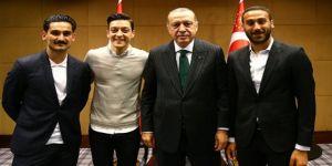 Erdoğan'a sürpriz ziyaret