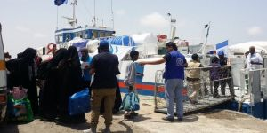 Tahliye edilen Somalililerin sayısı bin 64'e ulaştı