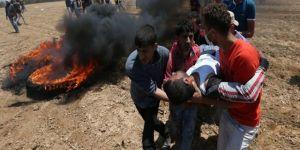 Gazze'deki büyükelçilik protestoları dünya basınında